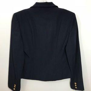 Lauren Ralph Lauren Jackets & Coats - Ralph Lauren Crop Blazer Navy Crest Buttons 4P